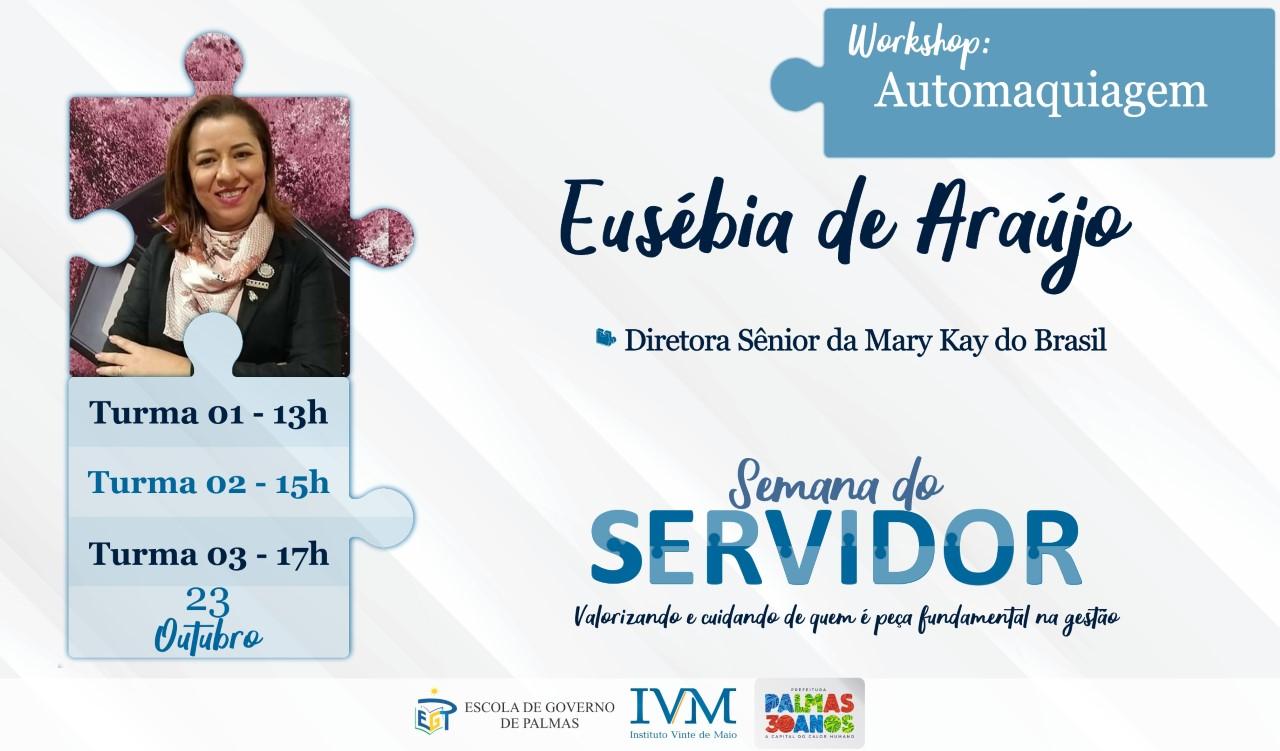 Automaquiagem é tema de workshop no IVM nesta quarta-feira, 23