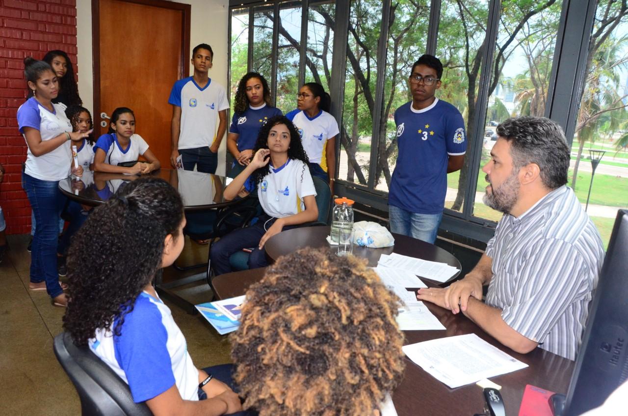 Controladoria realiza 3º circuito de visitas de estudantes através do Projeto Educação para Transparência