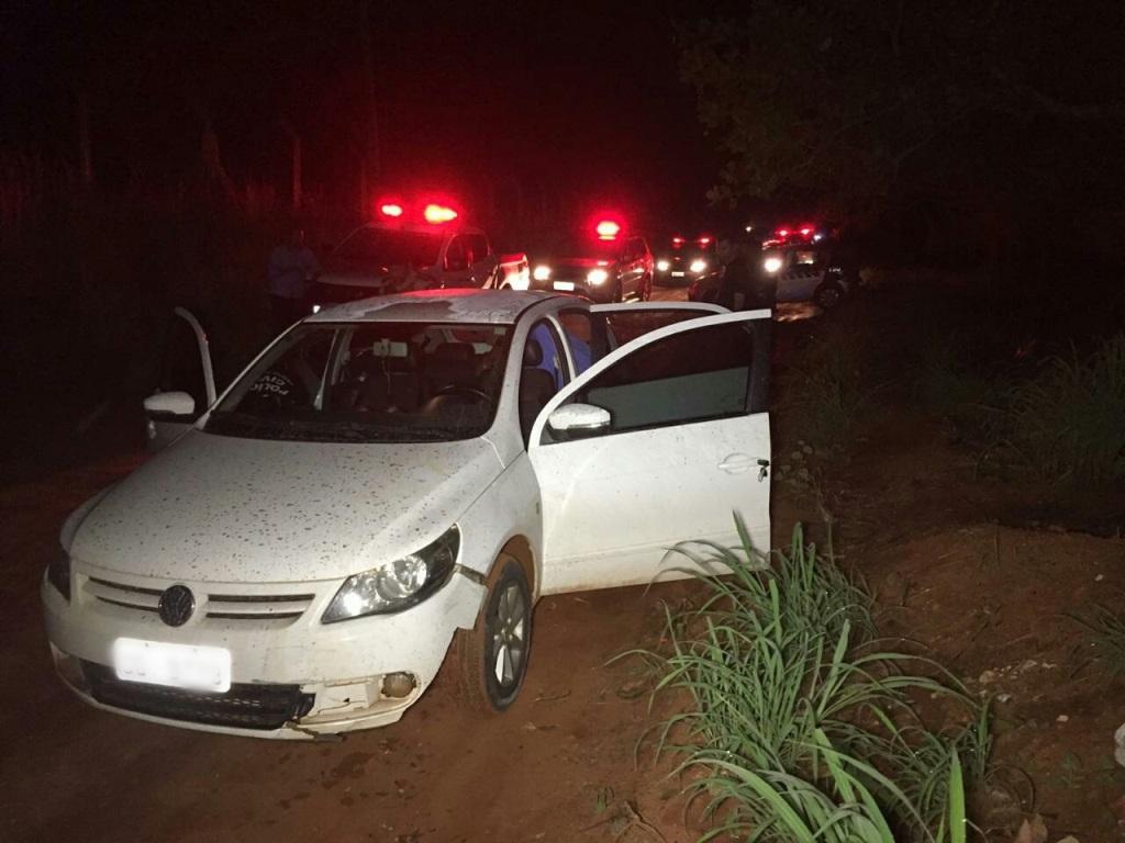 Polícia Militar prende homem por roubo em propriedade rural e recupera produtos roubados em Araguaína