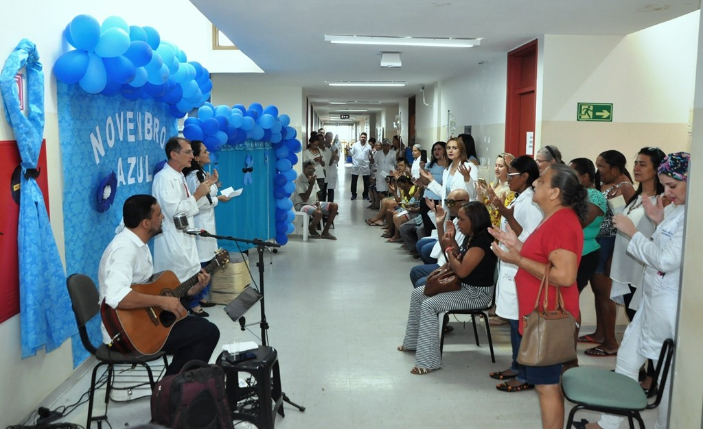 Café da manhã celebra Novembro Azul e chama atenção para o cuidado do homem no HGP