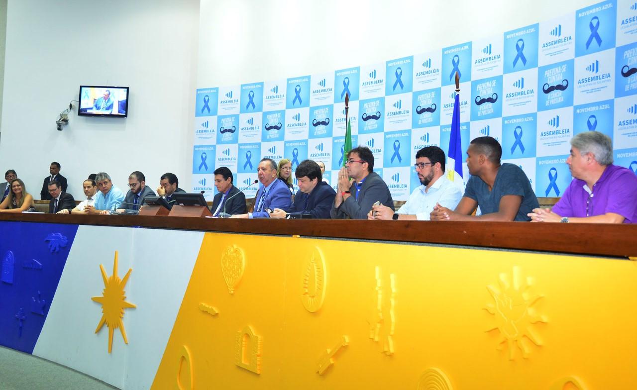 Lei de incentivo e criação da Secretaria do Esporte são propostas em audiência pública