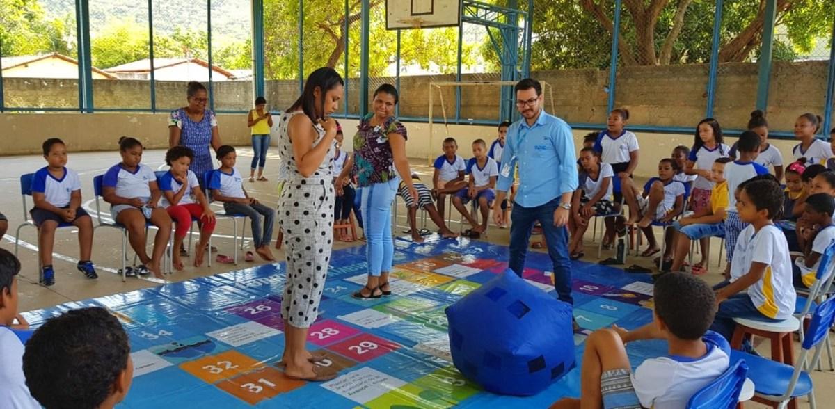 BRK Ambiental ensina sobre preservação ambiental em escolas de Natividade - Surgiu