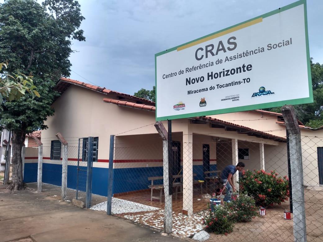 Prefeitura de Miracema revitaliza sede do Centro de Referência de Assistência Social (Cras)