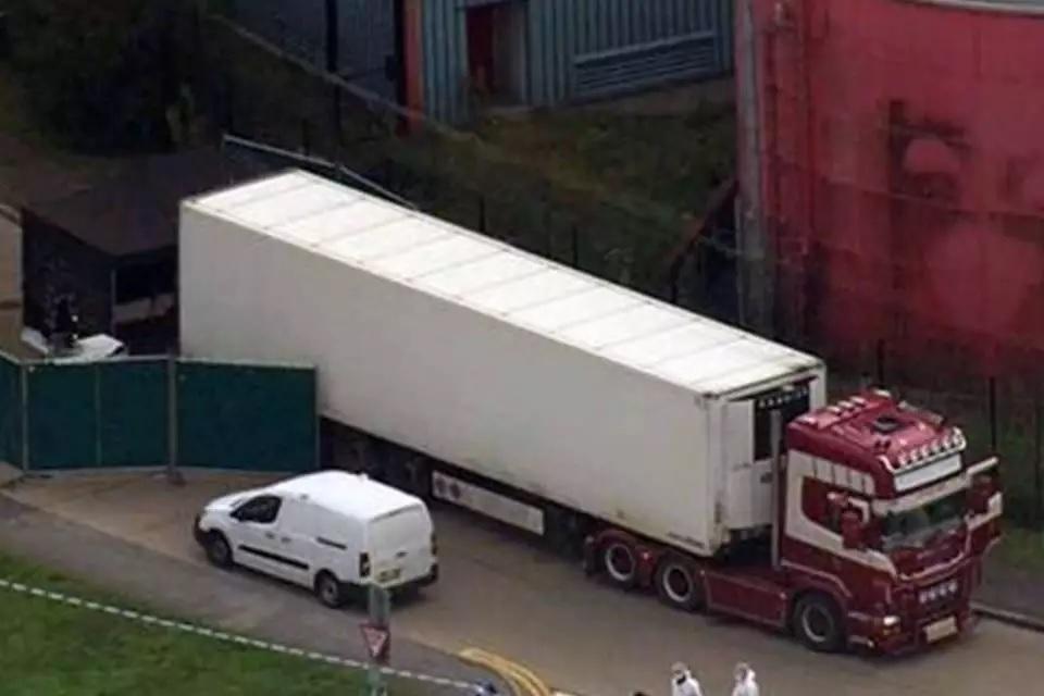 Corpos de 39 migrantes vietnamitas são encontrados em caminhão refrigerado em Londres