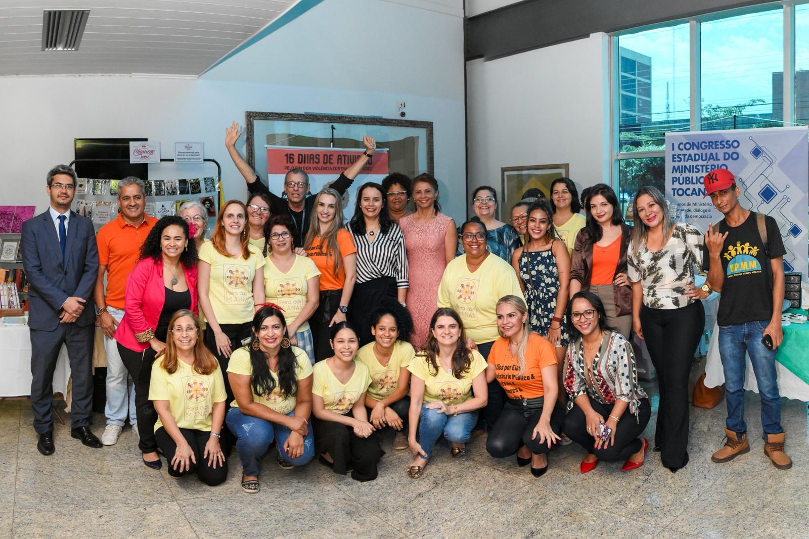 Campanha do MPTO reúne mulheres em prol do combate à violência doméstica