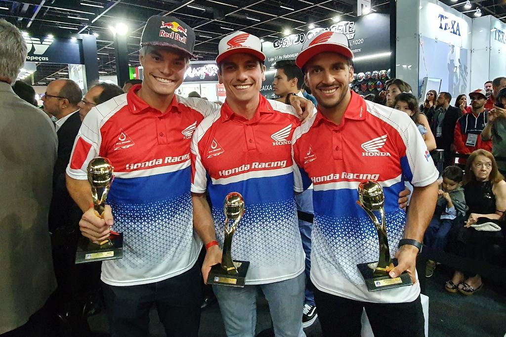 Honda Racing domina Capacete de Ouro 2019