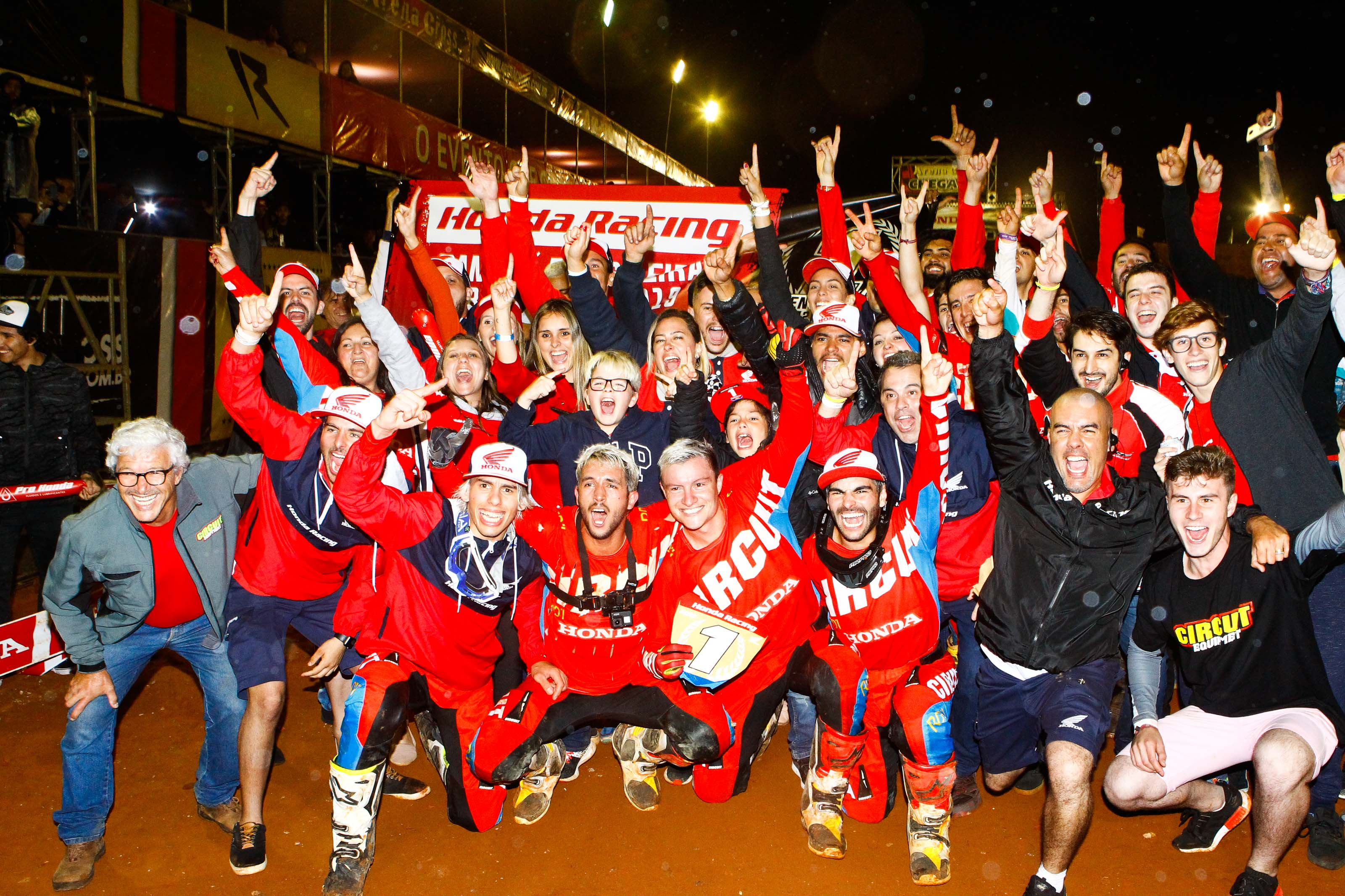 Equipe Honda Racing é a grande campeã do Arena Cross 2019