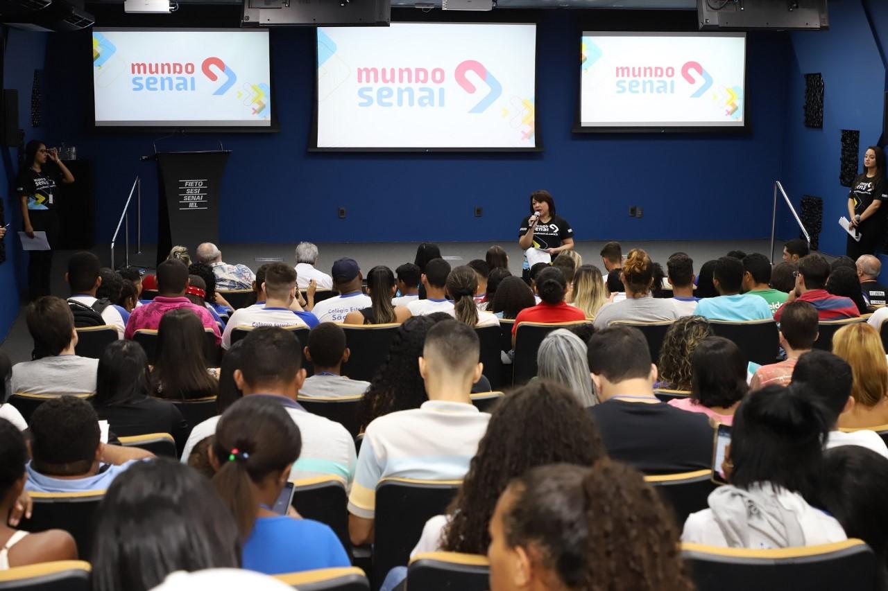 Mundo SENAI 2019 vai oferecer mais de 160 ações gratuitas em 5 escolas do Tocantins