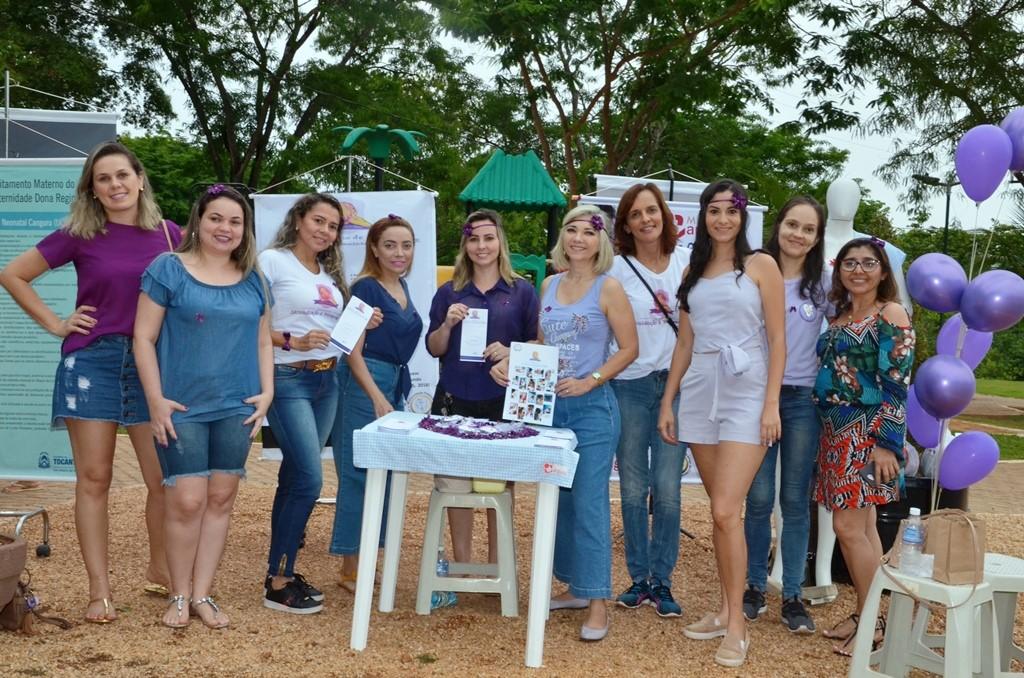 Encontro, em Palmas, visou despertar população para a prevenção da prematuridade em bebês
