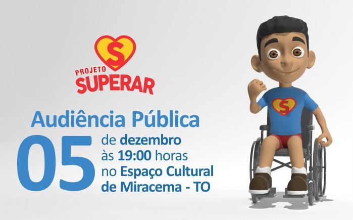Projeto Superar debate qualidade da educação durante audiência pública em Miracema do Tocantins