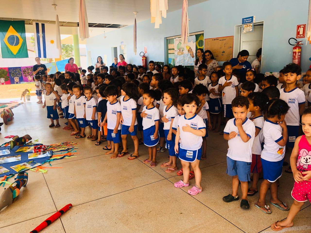 Alunos do Cmei Sementes do Amanhã participam de sarau literário e são classificados para festival do Sesc Tocantins