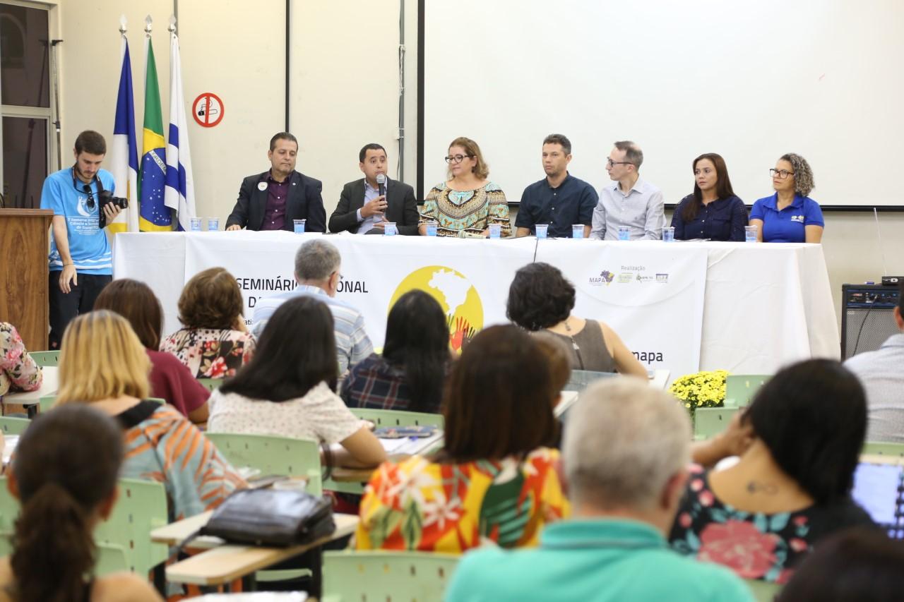 Seduc participa de Seminário sobre gestão democrática da Educação e fortalecimento da atuação dos territórios