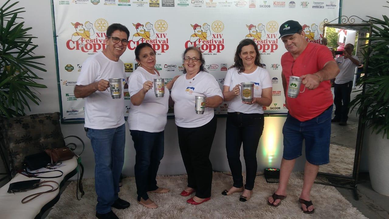 Rotary Club de Paraíso realiza o XIV Festival de Chopp