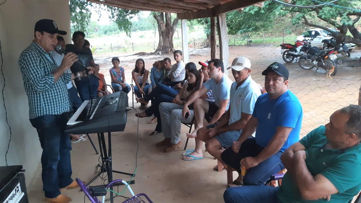 Prefeito Cléo participa de almoço entre amigos em Monte Santo