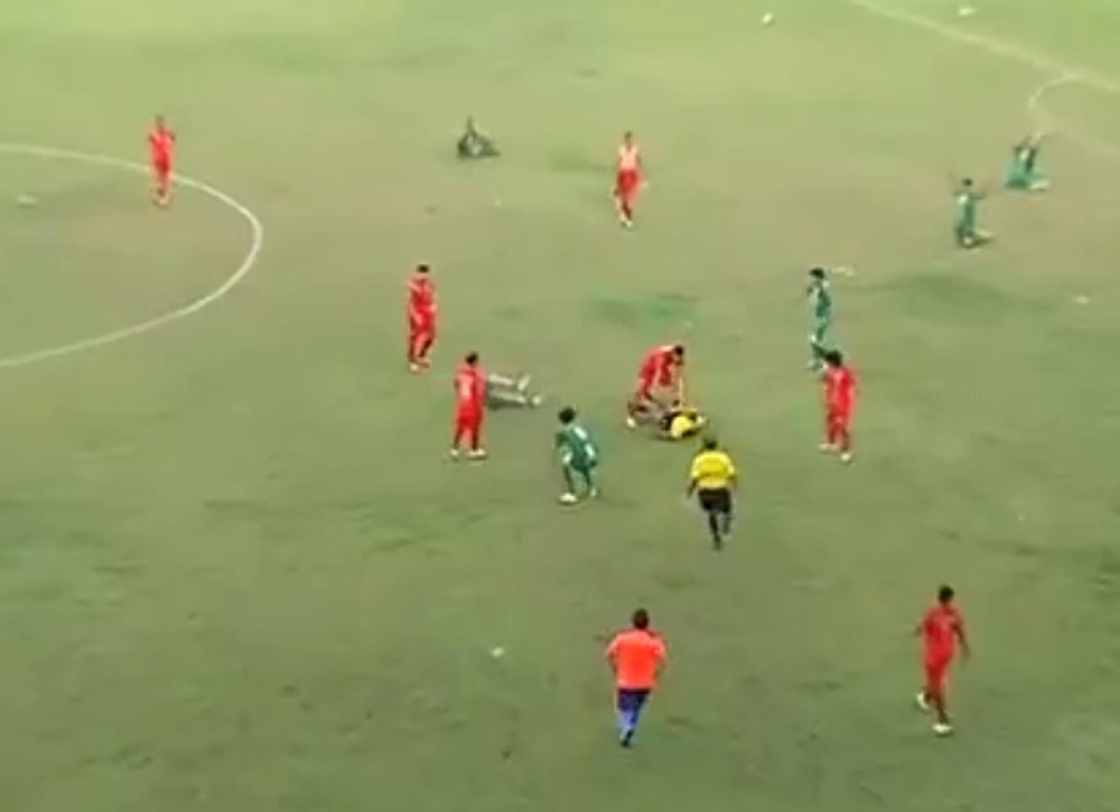Em 4 anos são registrados 5 casos de agressão física contra árbitros no Tocantins