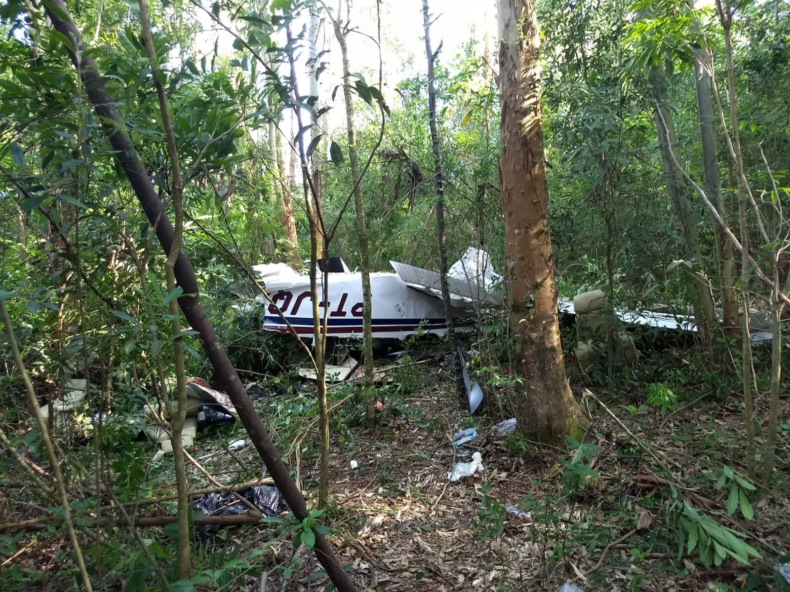Morre quarta vítima da queda de avião, em Cascavel