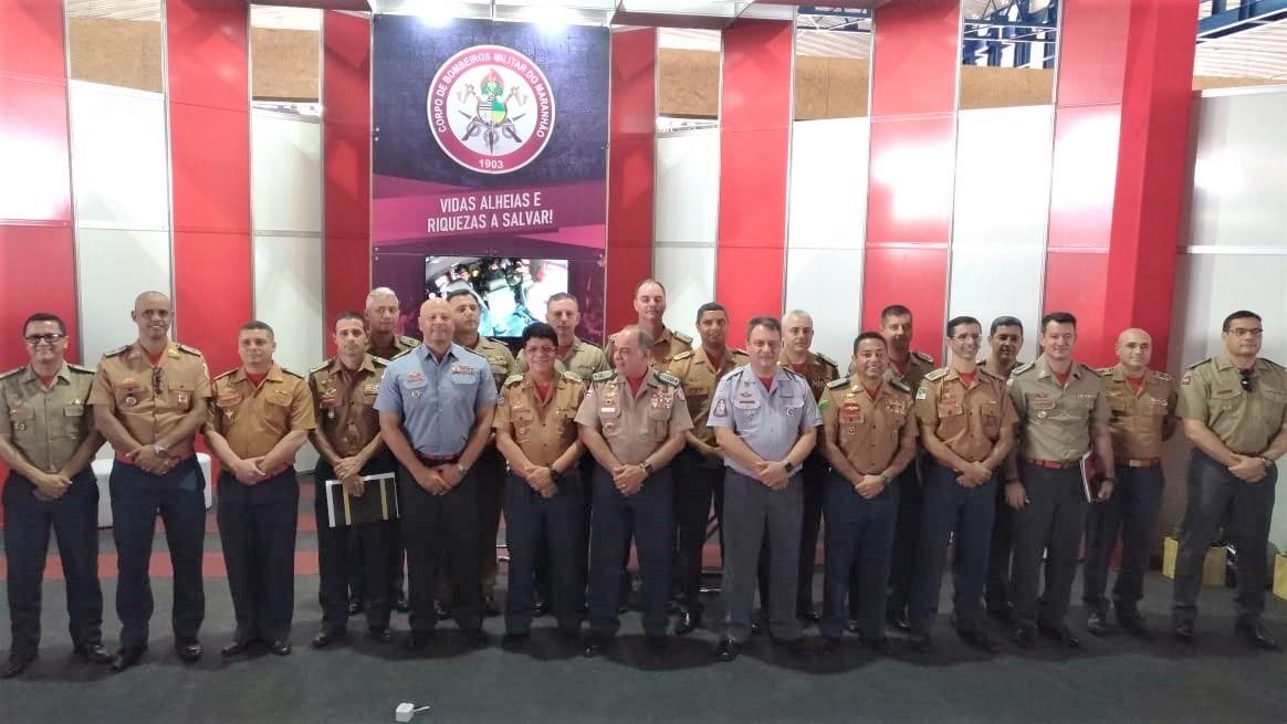 Em São Luís, coronel Leandro reforça busca por conquistas dos bombeiros militares de todo o país
