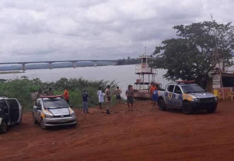 Corpo é encontrado boiando no rio Tocantins perto de balsa em Porto Nacional