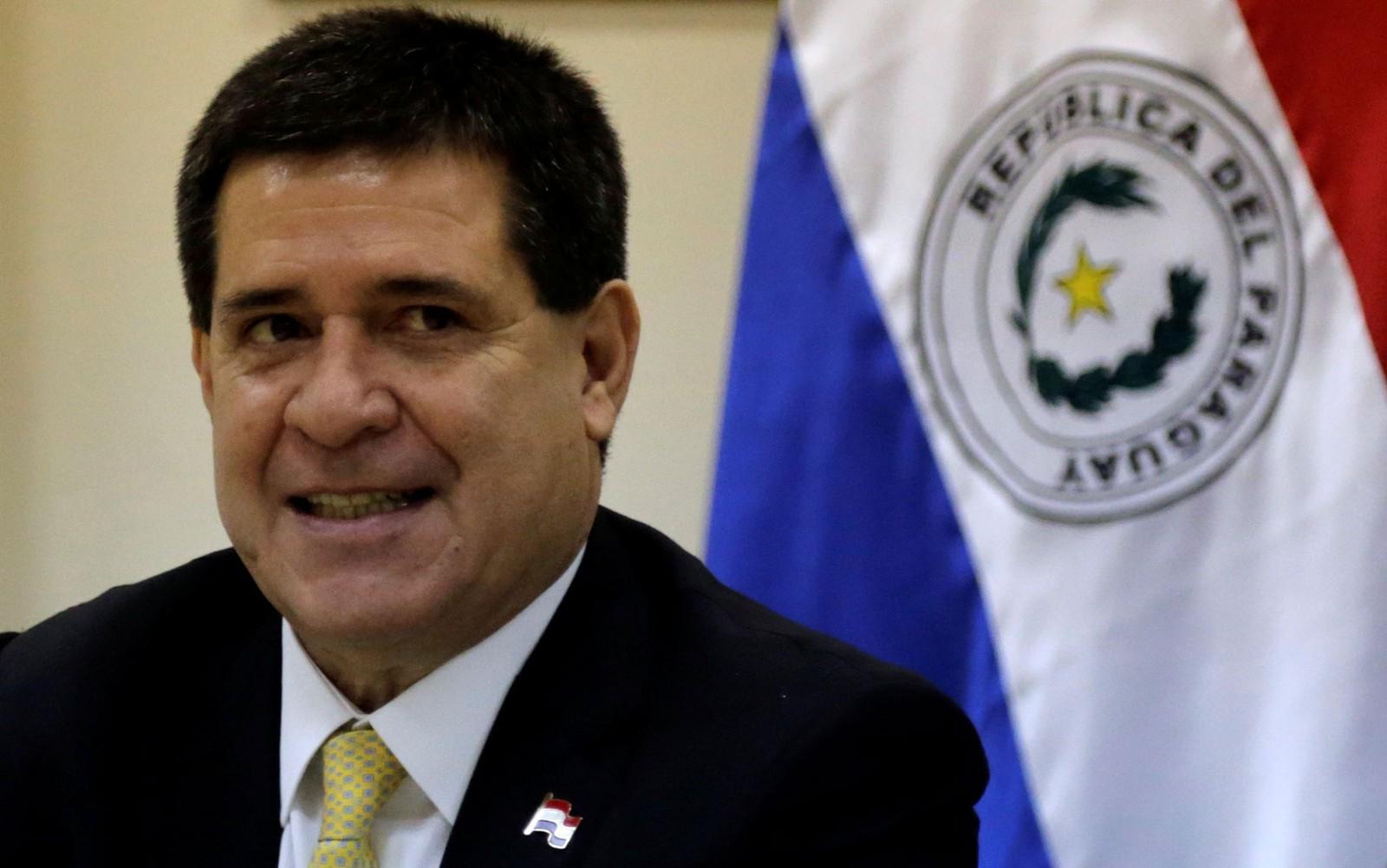 Ex-presidente do Paraguai Horacio Cartes é alvo de mandado de prisão na Lava Jato