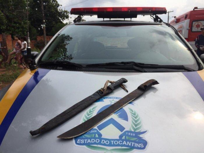 Homem é procurado pela polícia suspeito ferir esposa e amigo com golpes de facão em Araguaína