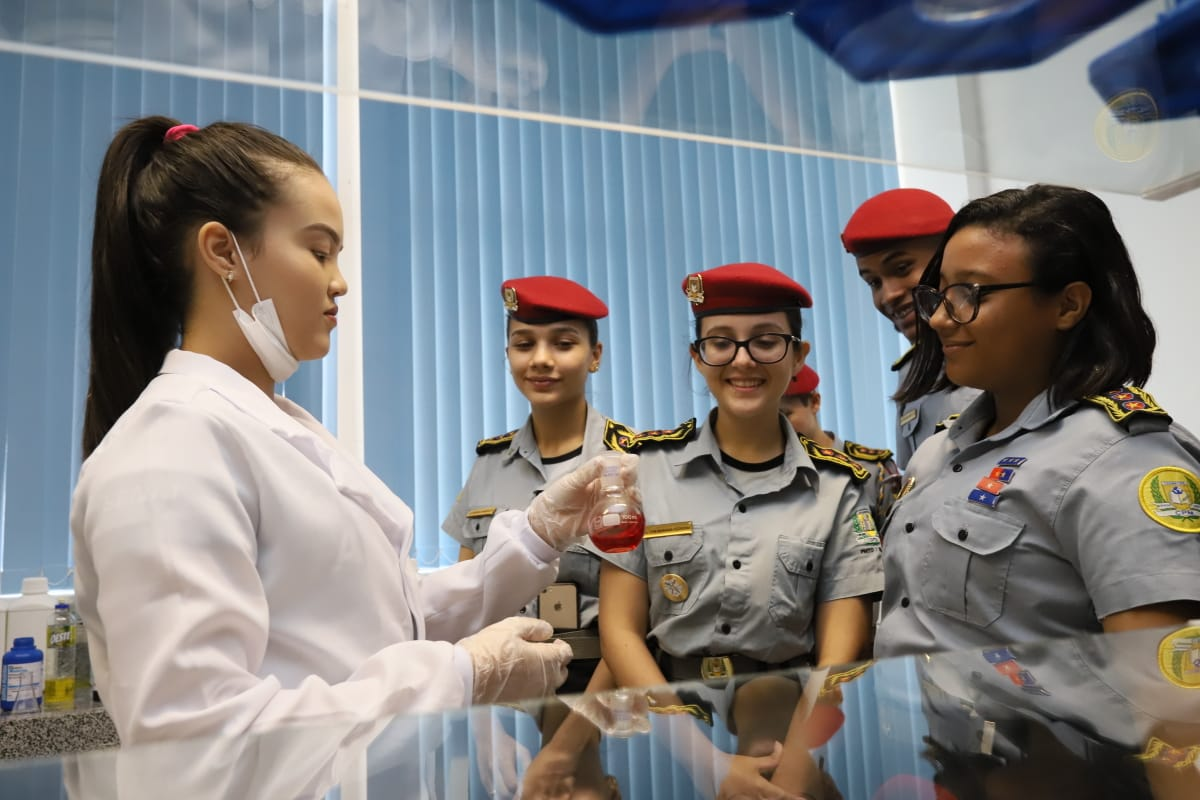 Resultado parcial do Mundo SENAI mostra que 3 mil visitantes visitaram unidades do Tocantins