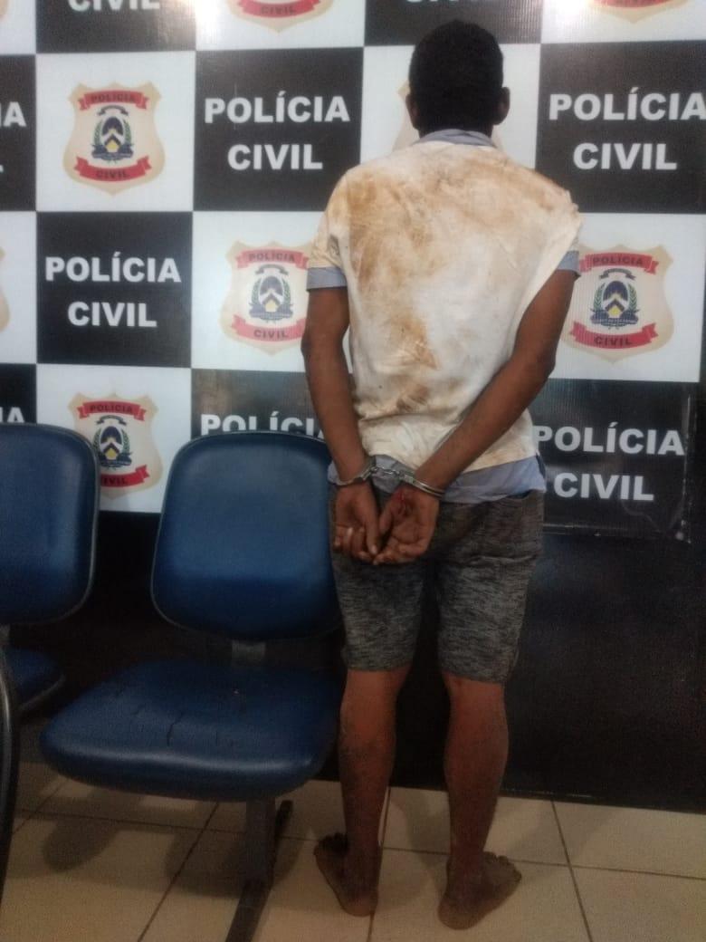 Suspeito de praticar roubos a mão armada é preso em Palmas