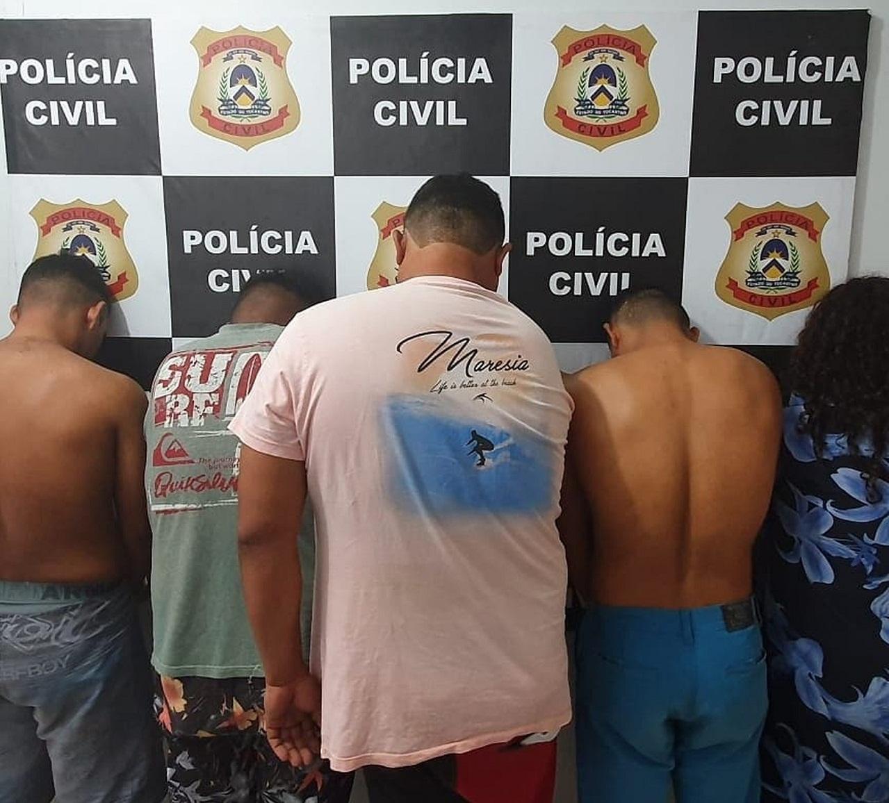 Sete pessoas são presas durante operação contra tráfico de drogas no sul do estado
