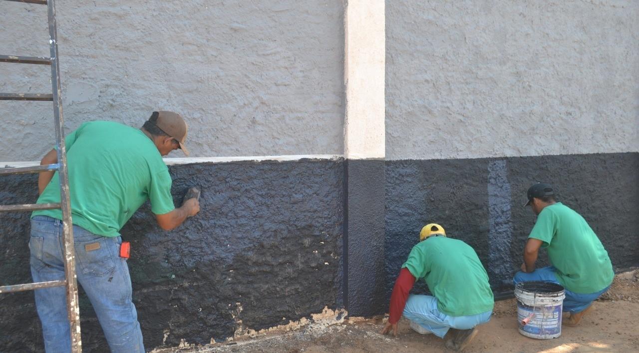 Reeducandos da CPP de Paraíso trabalham para melhorias estruturais na unidade