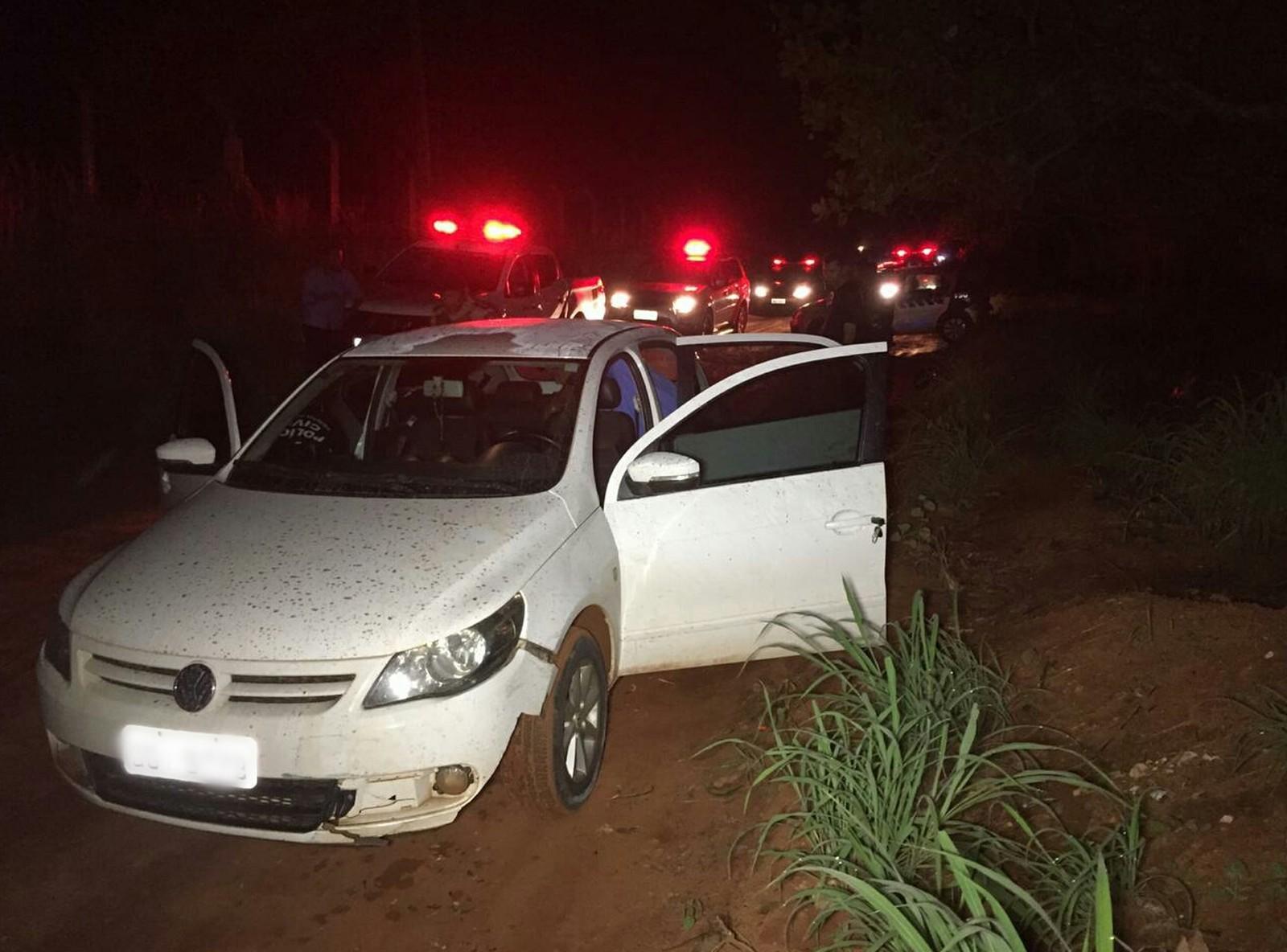 Suspeito é preso após invadir chácara, fazer casal refém e roubar carro em Araguaína