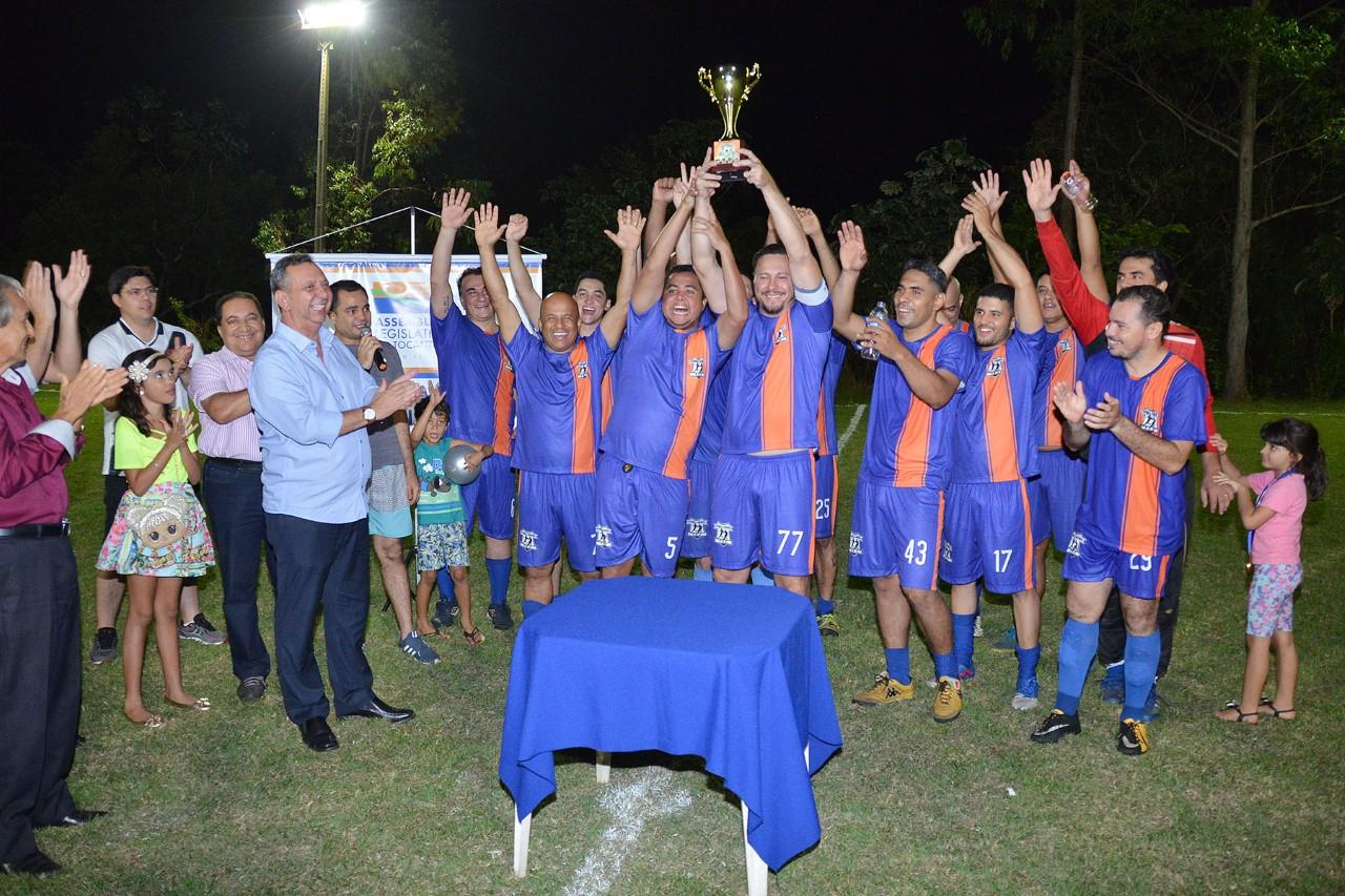 Assembleia realiza segundo campeonato sete society entre órgãos públicos