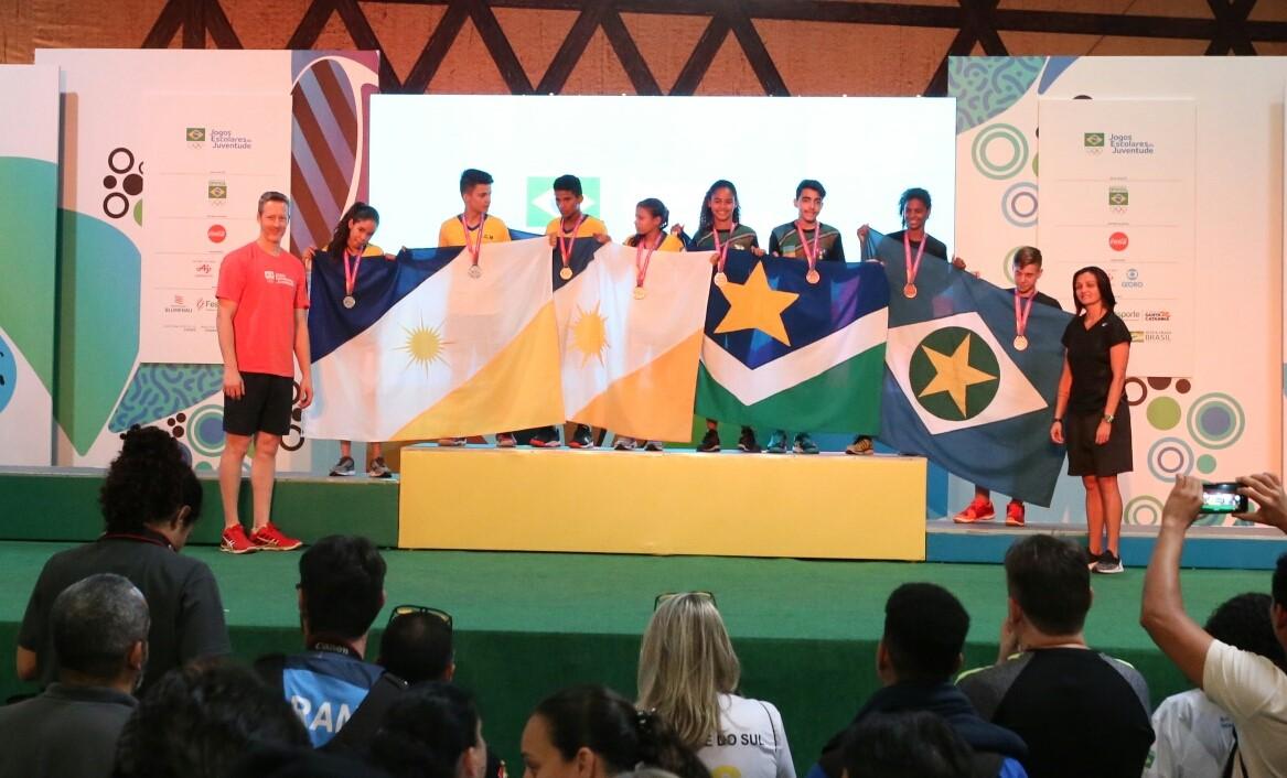 Com 11 medalhas, Tocantins faz sua melhor participação nos Jogos Escolares da Juventude