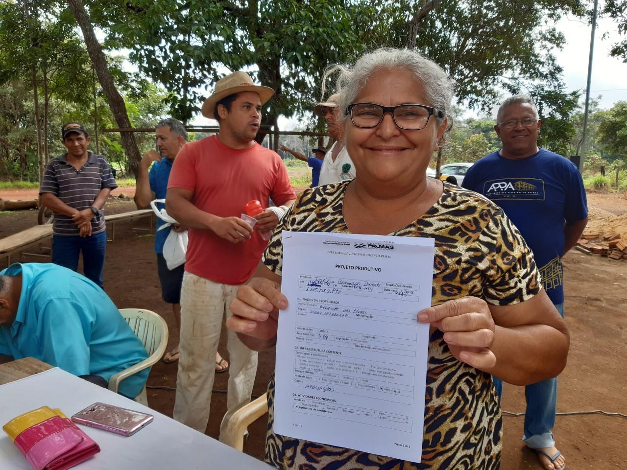 Agricultores familiares da Serra do Lajeado serão contemplados com gradagem de suas propriedades