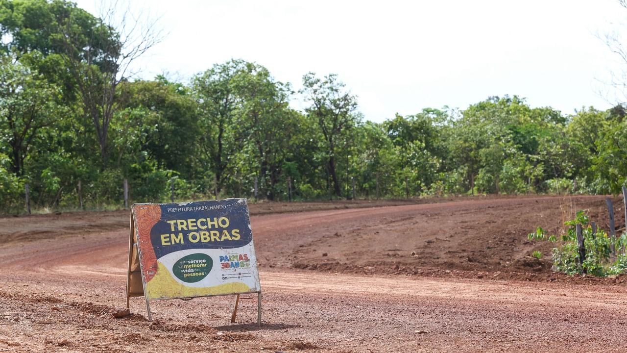 Escoamento da produção de Palmas ganha reforço com alargamento da estrada no Eixão São Silvestre
