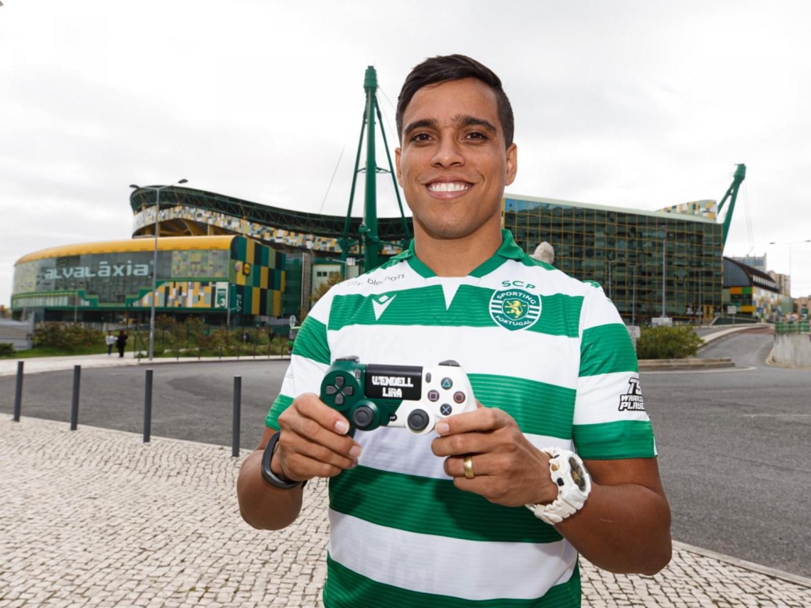 Wendell Lira assina com Sporting e defende primeiro clube nos eSports após saída do futebol