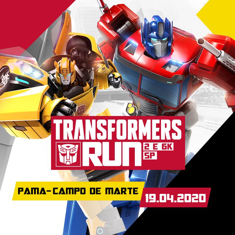 Universo Transformers chega às ruas de São Paulo em abril. Inscrições para corrida estão abertas