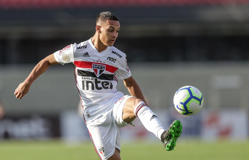 Antony, destaque do São Paulo na temporada, está confirmado no Reis do Drible