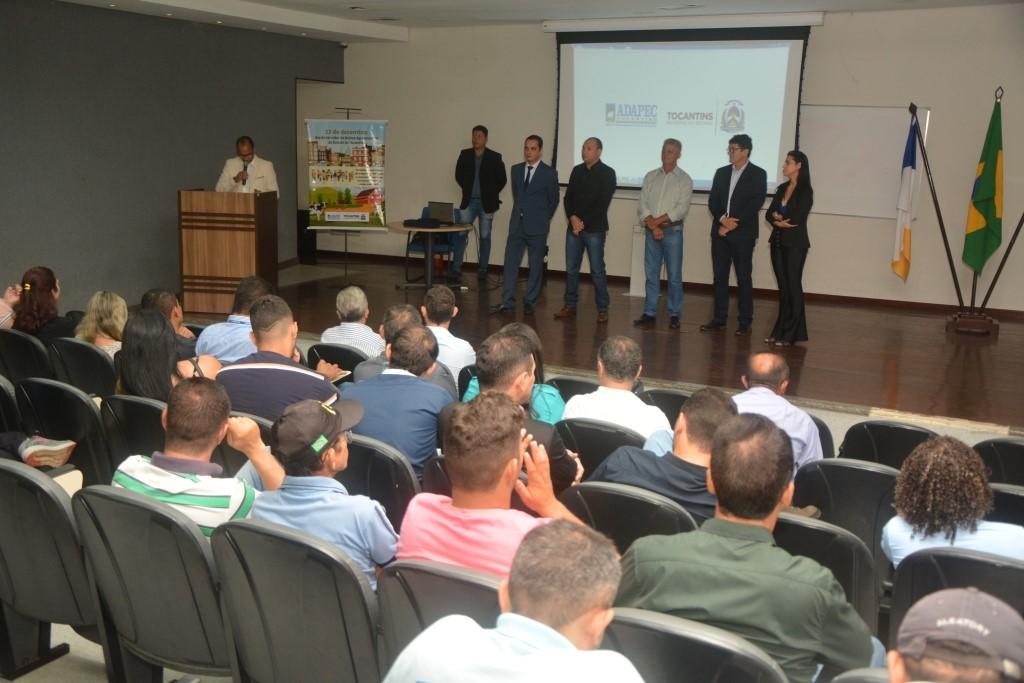Dia do servidor de defesa agropecuária do Tocantins é comemorado com homenagens e palestra motivacional