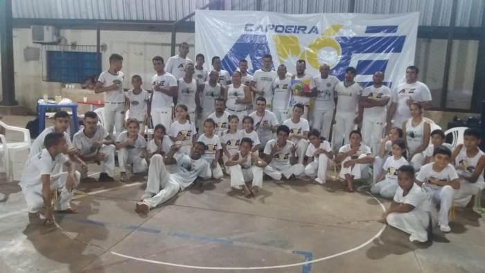 """Alunos e comunidade participam do projeto """"Tabocão, Educando e Fortalecendo Através do Esporte"""""""