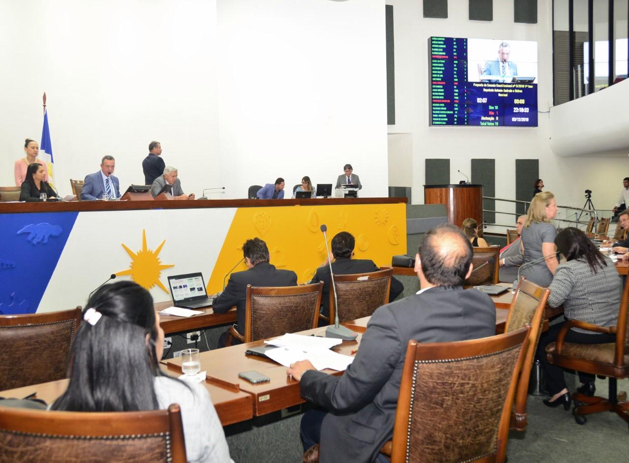 Assembleia aprova LDO e inicia tramitação da LOA 2020