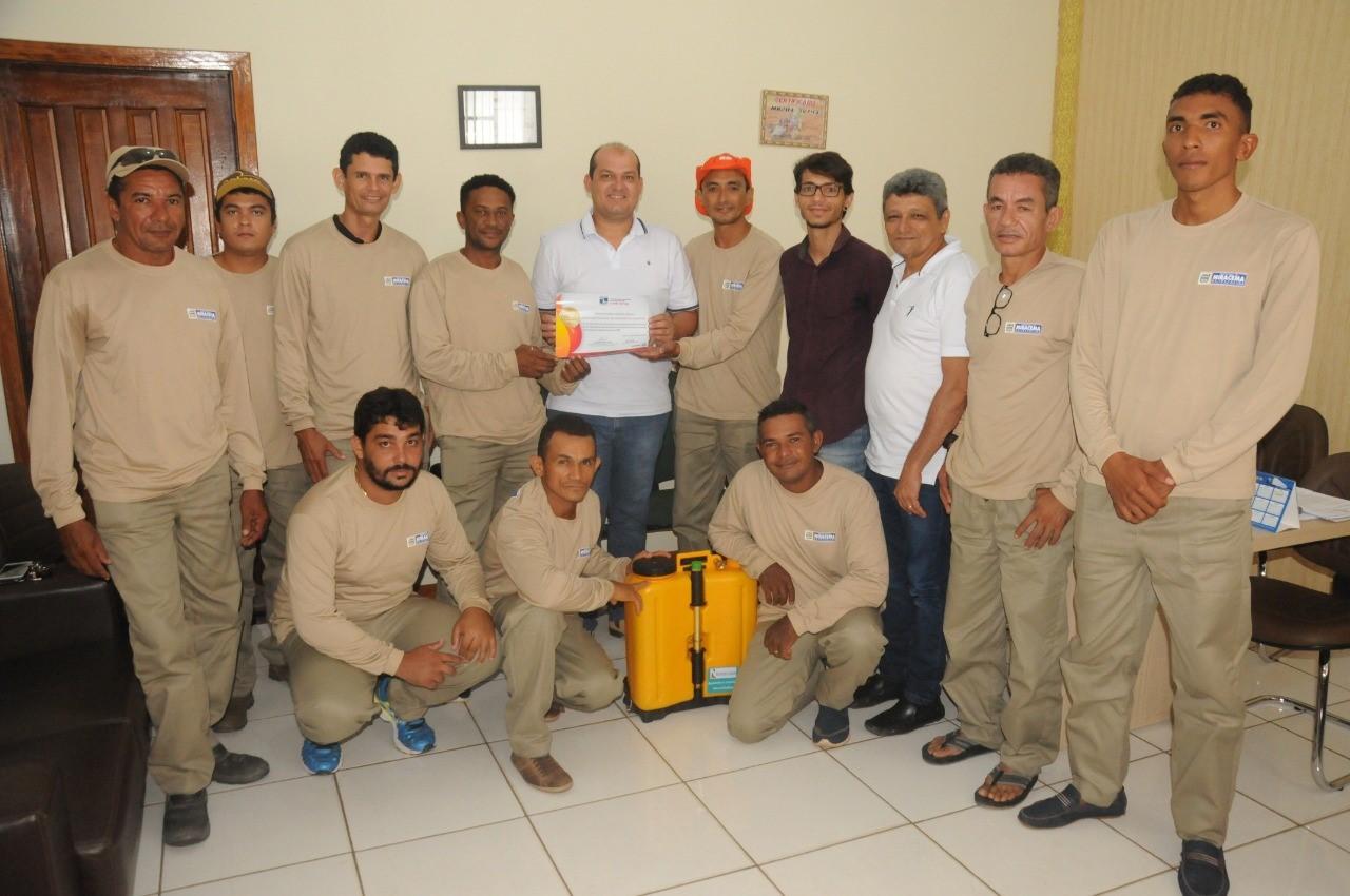 Brigada Municipal de Incêndio é destaque entre as cidades do Tocantins e recebe homenagem do Prefeito de Miracema