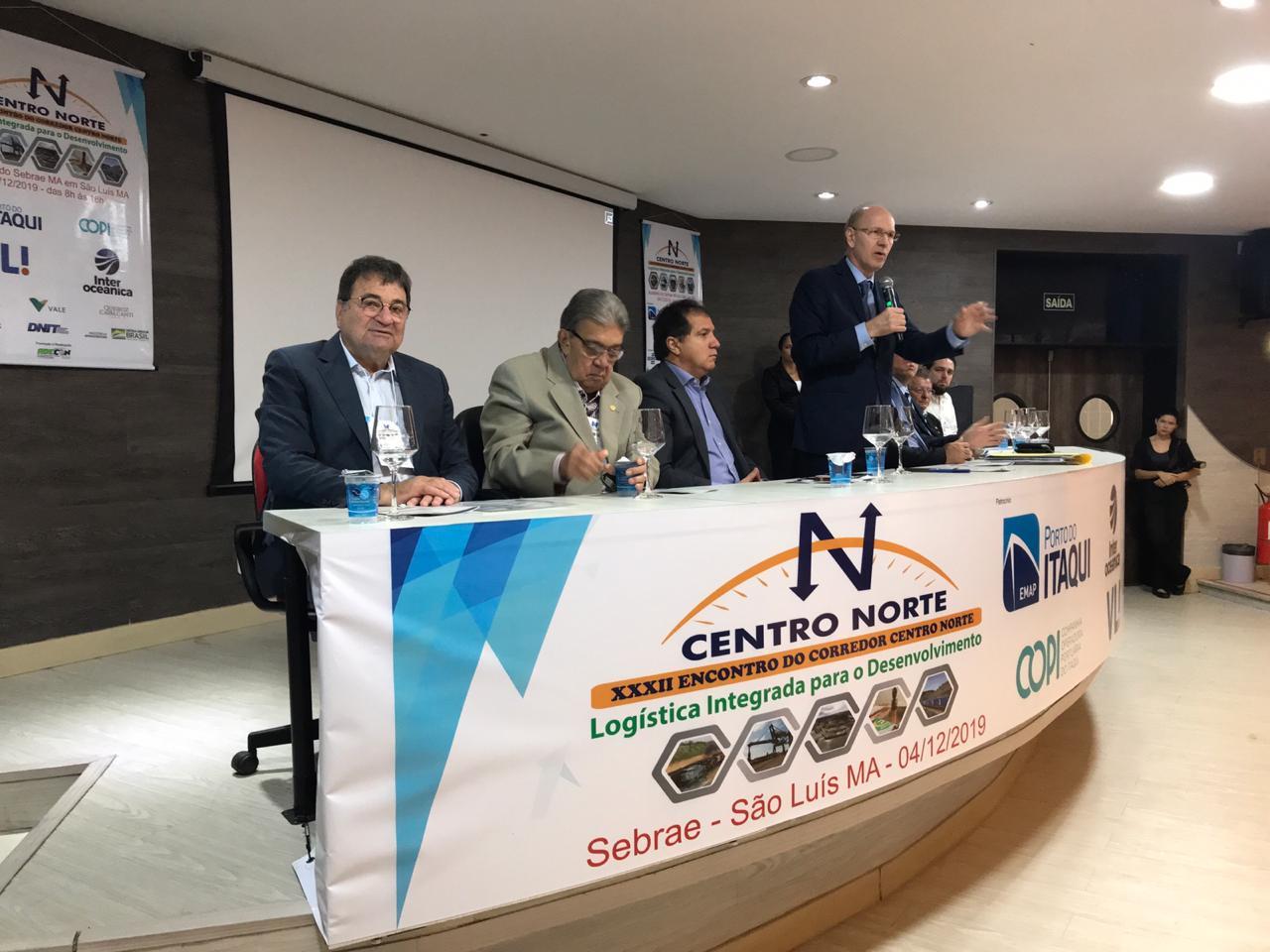 Em São Luís, César Halum debate a logística integrada para o desenvolvimento do Corredor Centro-Norte