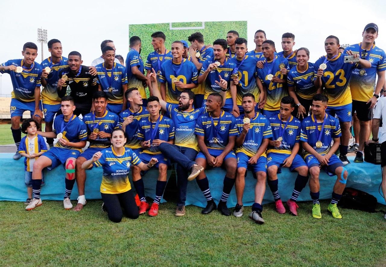Títulos, formação de atletas e retomada da confiança marcam ano do Palmas Futebol e Regatas