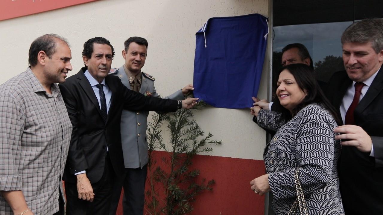 Cerimônia de 27 anos de Corpo de Bombeiros Militar é marcada com a inauguração do Centro integrado de saúde e assistência social bombeiro militar