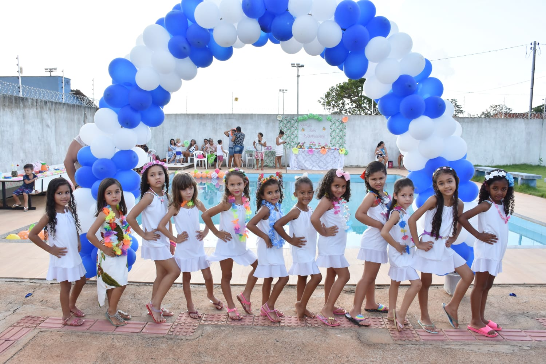 Cmei Maria Ribeiro da Silva de Pugmil promove Aula da Saudade para crianças do Pré-escolar II