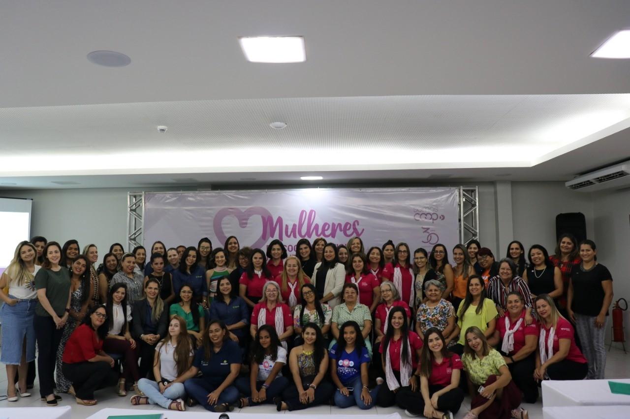 Encontro reúne mais de 60 mulheres cooperativistas para discutir liderança e protagonismo