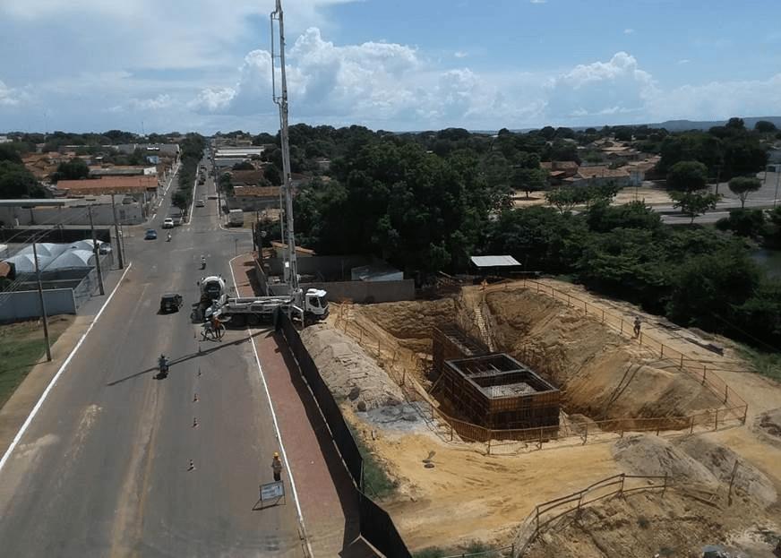 BRK Ambiental realiza obra de construção de Estação Elevatória em Porto Nacional