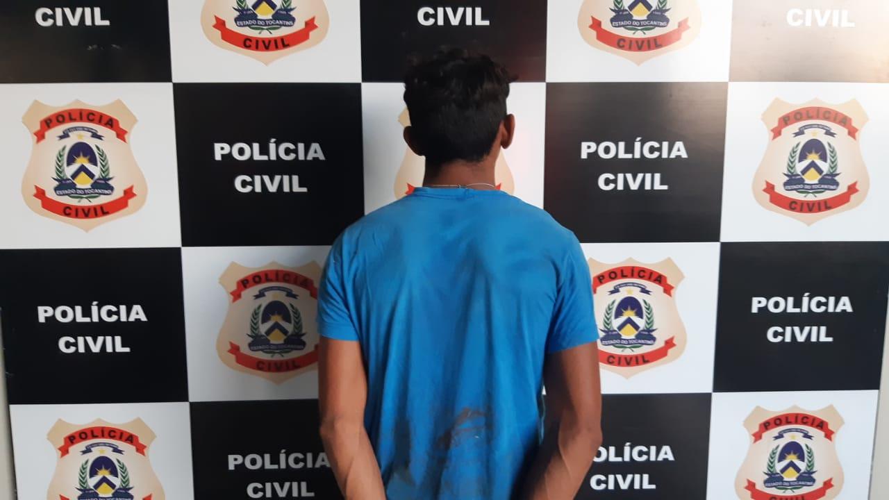 Suspeito de extorsão, sequestro e homicídio é preso pela Polícia Civil em Araguaína