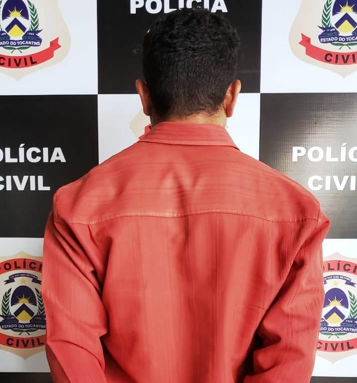 Polícia Civil prende em Araguaína homem com mandado por homicídio ocorrido em Mato Grosso
