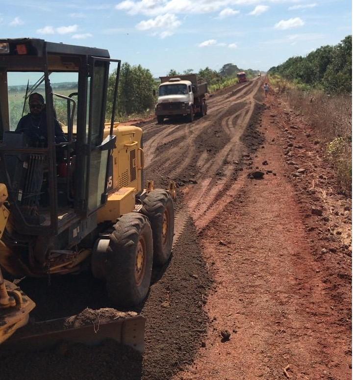 Governo finaliza melhorias em trecho da TO-255 de Lagoa da Confusão a Barreira da Cruz