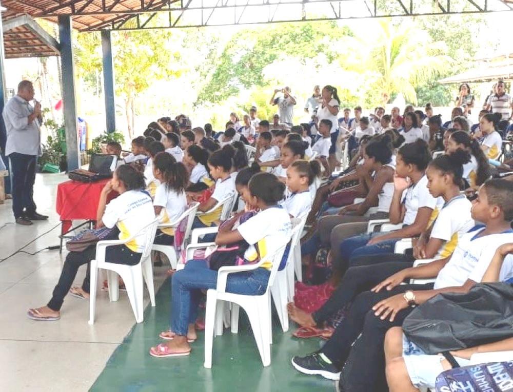 Escolas de Monte do Carmo recebem palestras do Governo sobre proteção especial